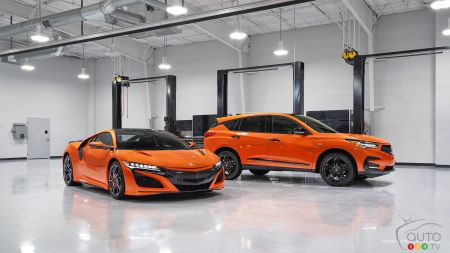 Acura NSX and Acura RDX PMC Edition